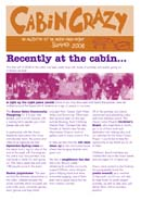issue #1 Cabin Crazy
